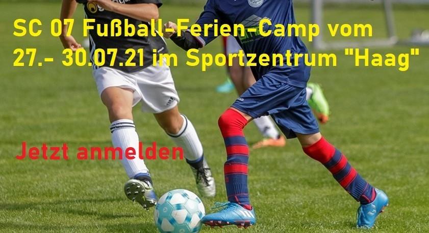 Ferien-Camp beim SC 07 Idar-Oberstein