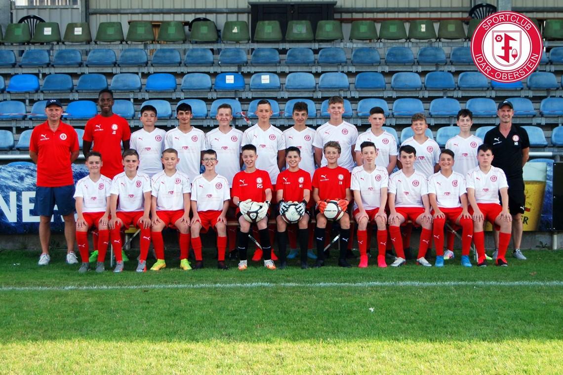 Mannschaftsfoto SC Idar-Oberstein