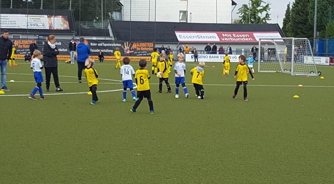 Unsere Bambinis gegen den SV Burgaltendorf
