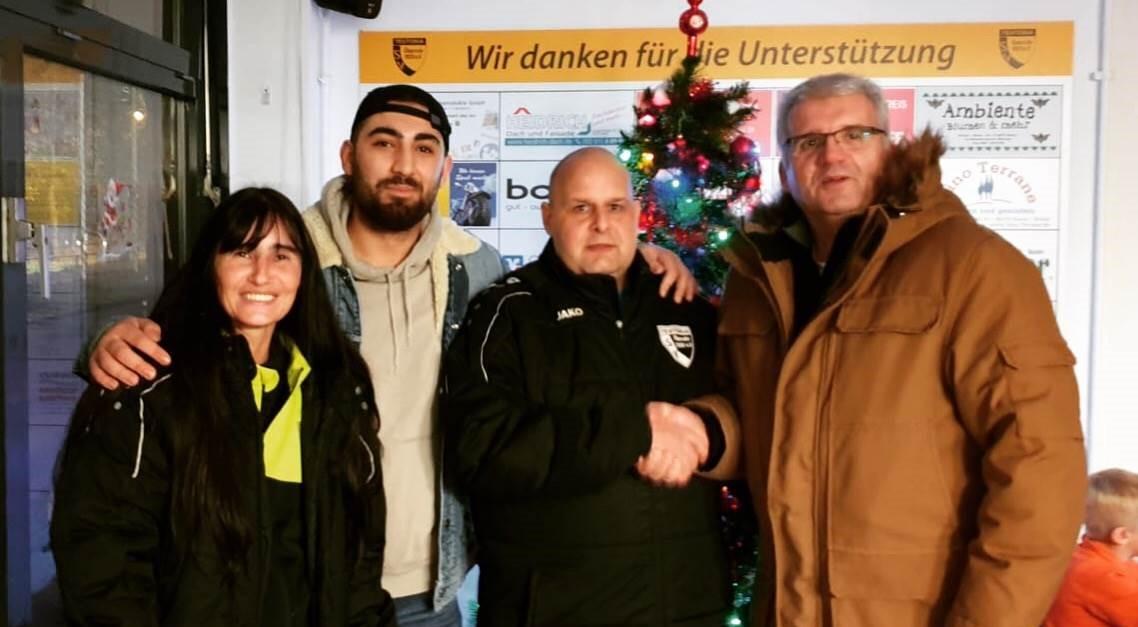 Neue B-Jugend unter Günther Hesse