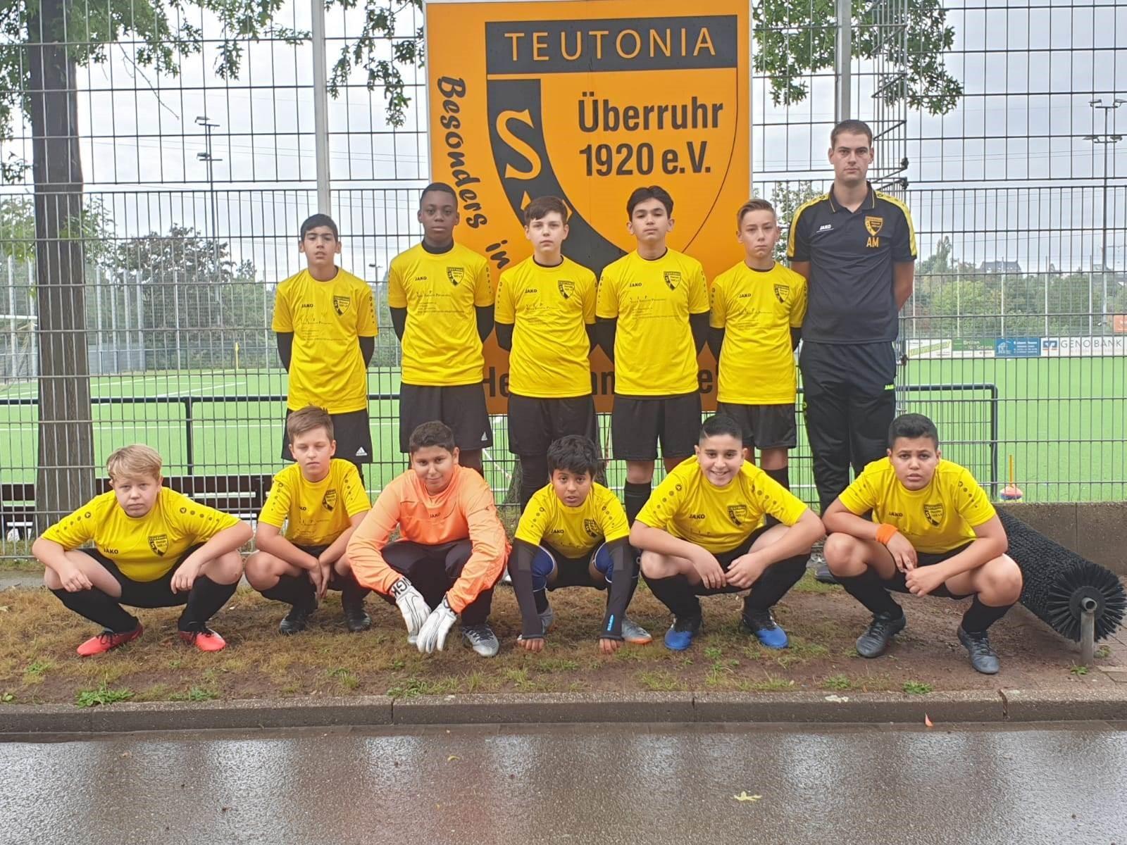 Mannschaftsfoto SV Teutonia Überruhr