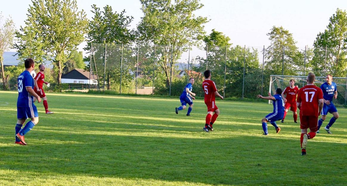 Ribeiros gegen den FC Kreiensen/Greene in Torlaune