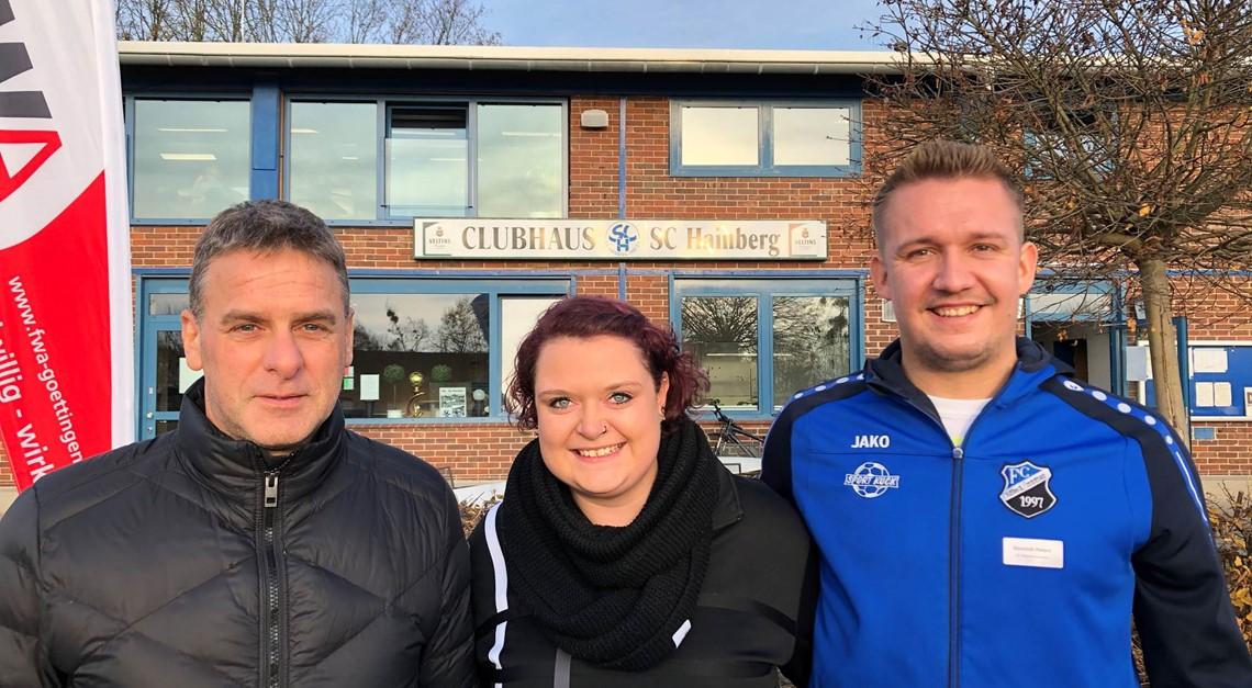 Vorstand zu Gast beim SC Hainberg