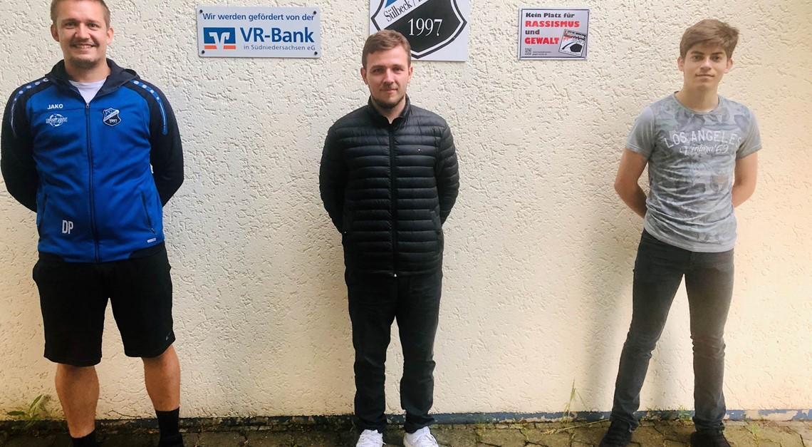 Drei neue G-Jugendtrainer bei der JSG Sülbeck