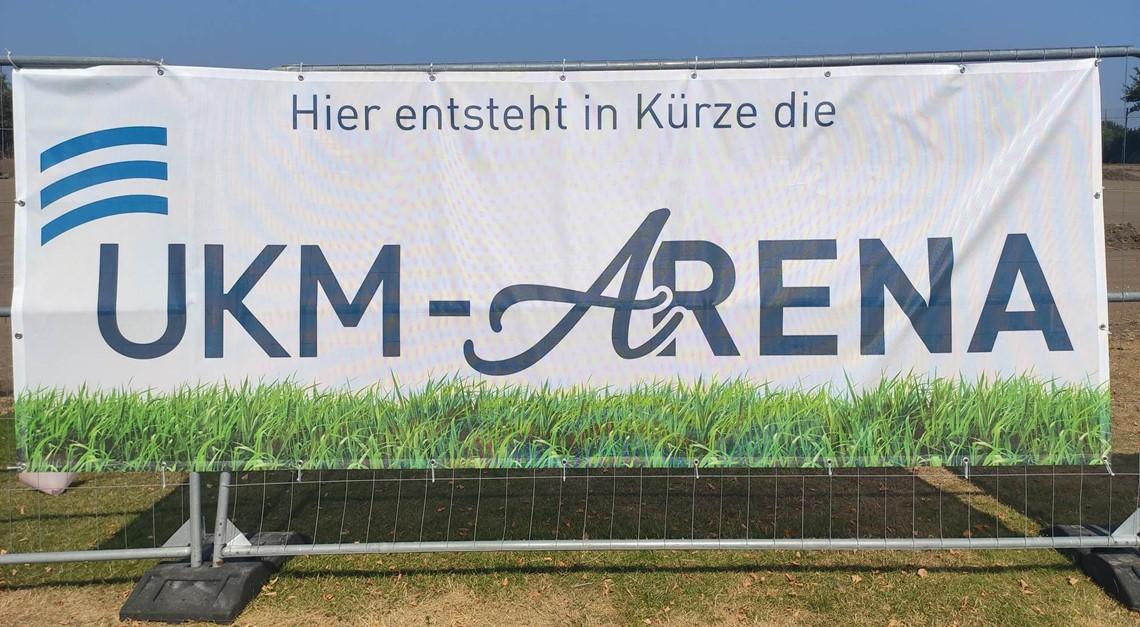 Baubeginn UKM- Arena!