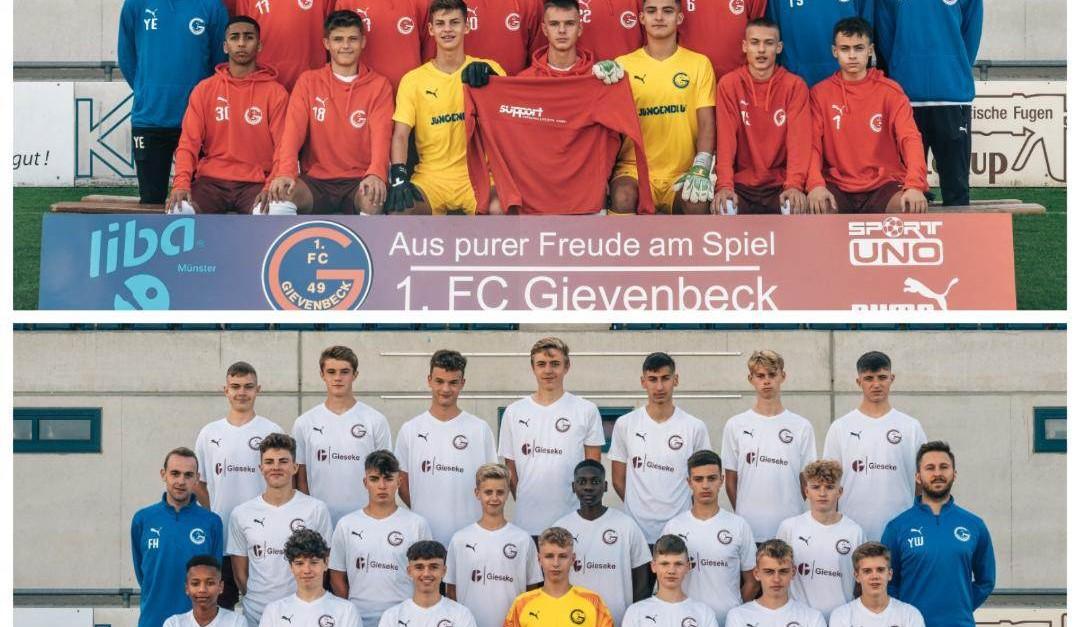 U17 und U16 gehen mit Vorfreude in neue Saison