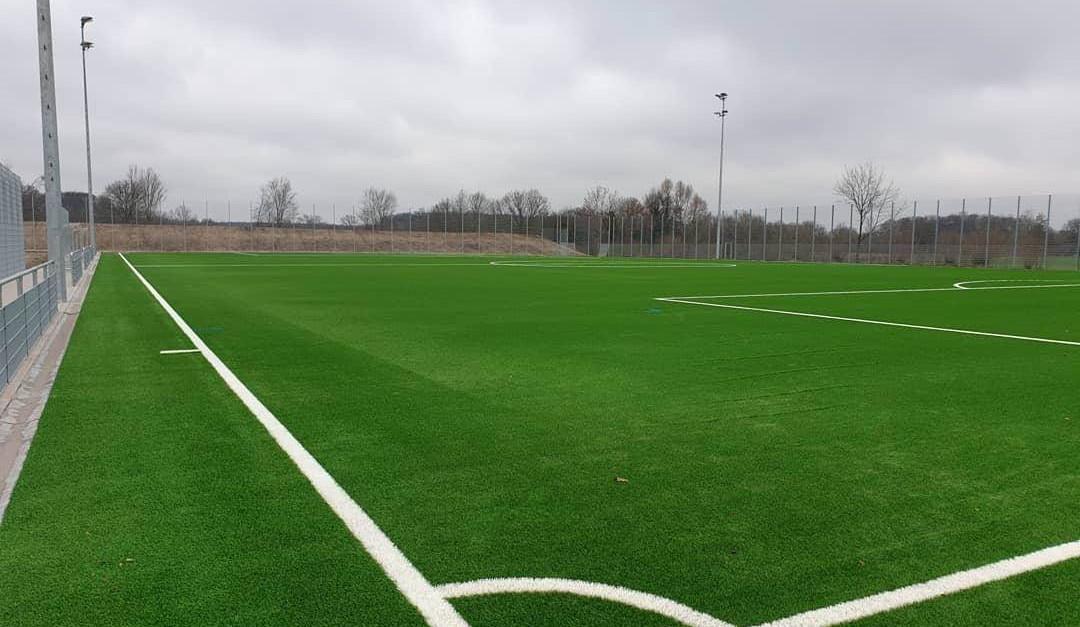 UKM- Arena vor Fertigstellung