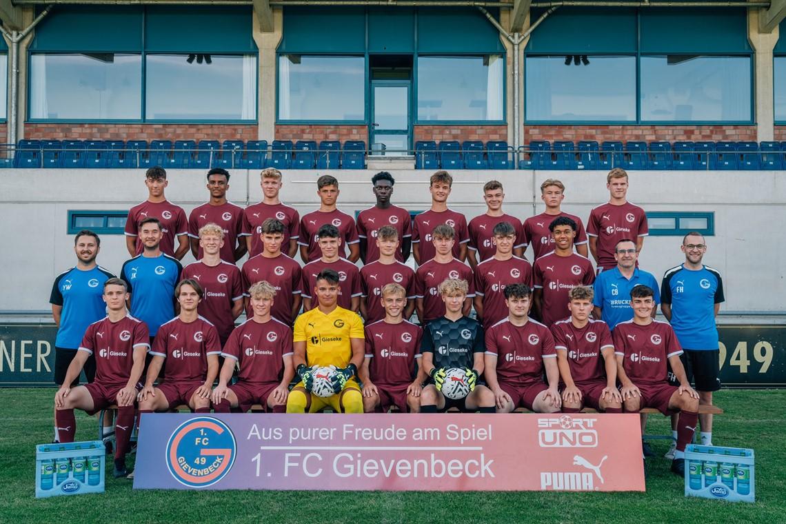 Mannschaftsfoto 1. FC Gievenbeck