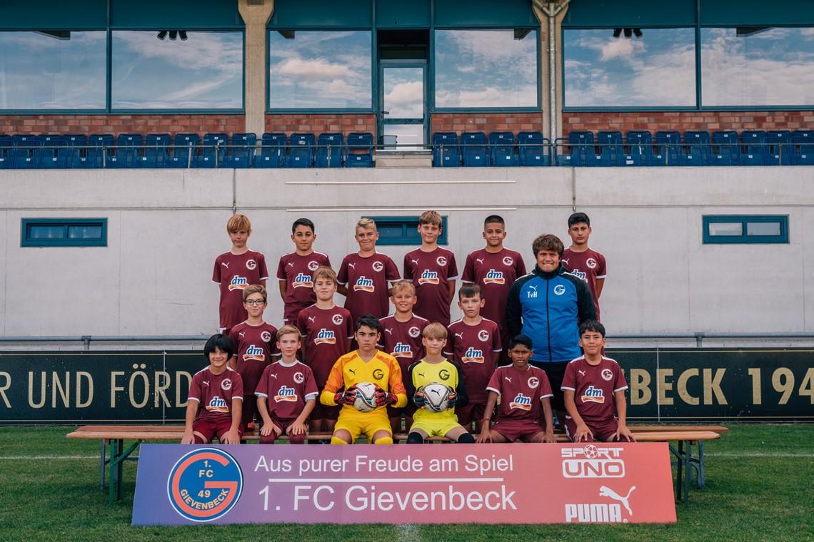 Mannschaftsfoto 1. FC Gievenbeck 3