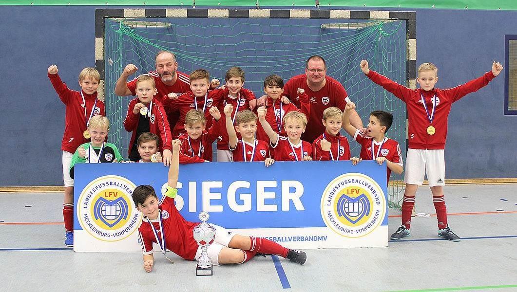 E 1 ist Landesmeister im Futsal 18/19
