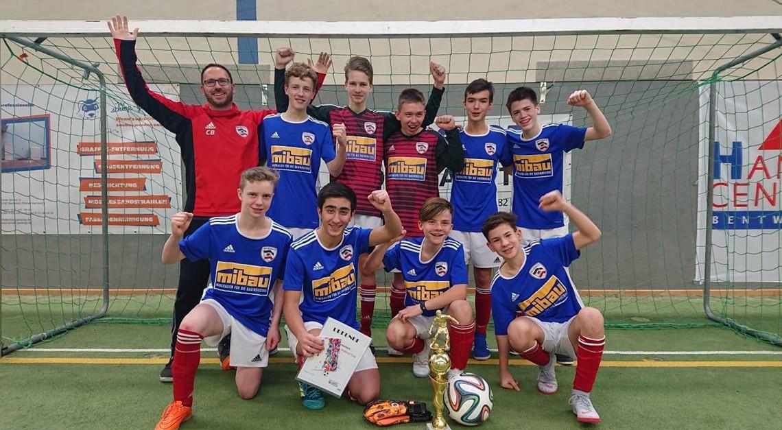 C-Junioren gewinnen den Ergo-Cup in Bentwisch