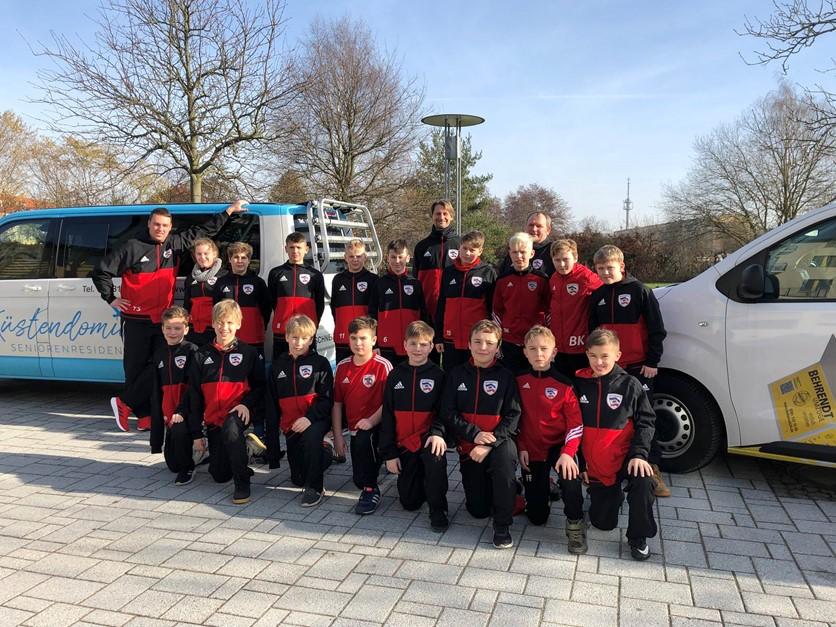 Trainingslager Greifswald D1-Junioren