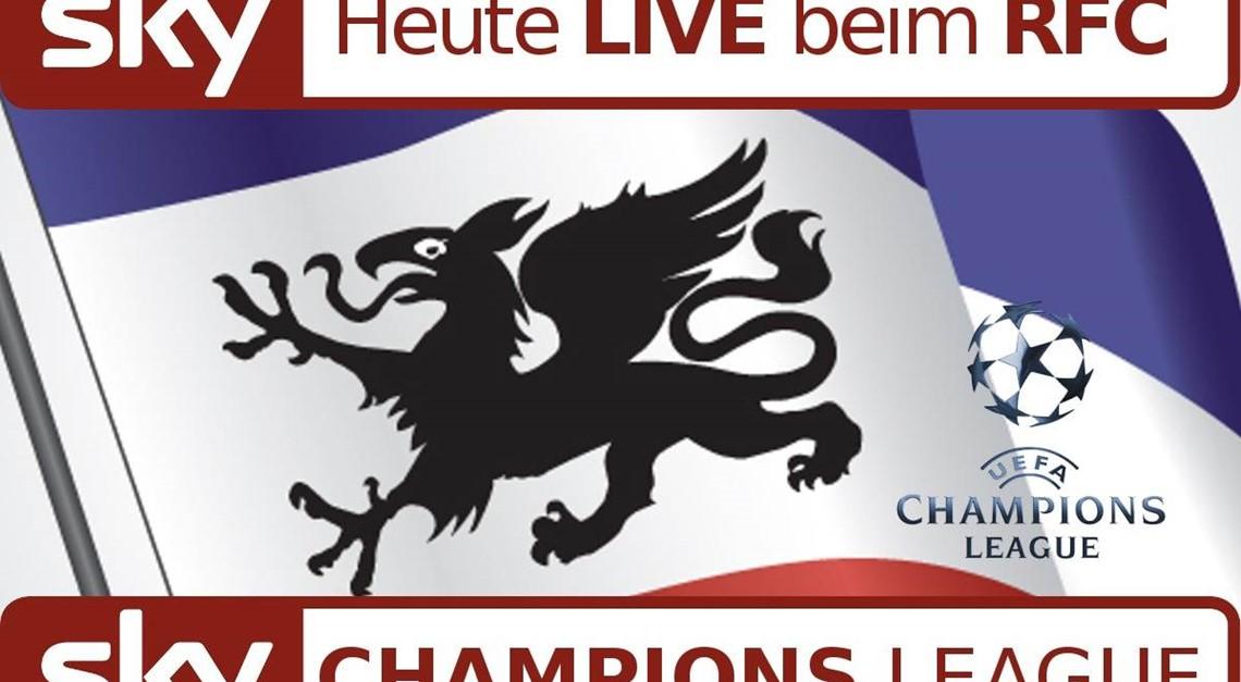 Das Topspiel der Champions League heute beim RFC