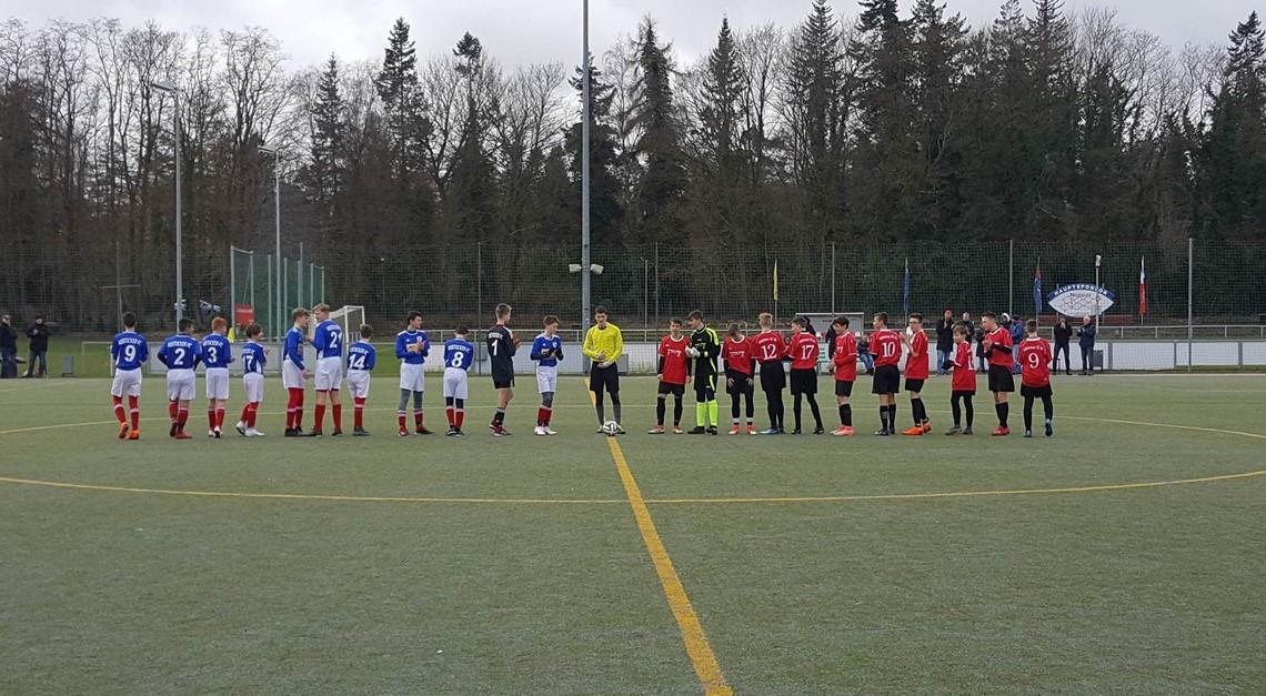 C-Junioren gewinnen gegen den Güstrower SC