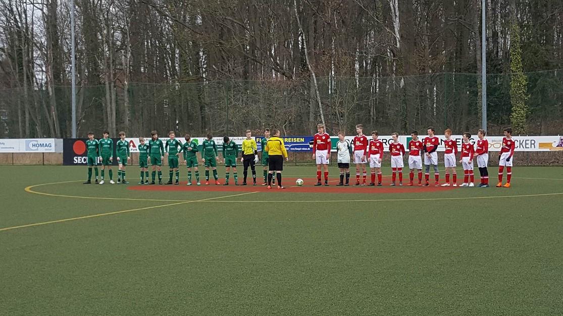 Niederlage für die C-Junioren in Schönberg