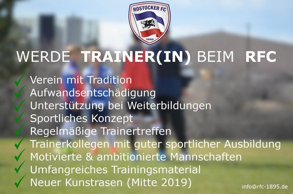 Trainerteam sucht neue Mitglieder