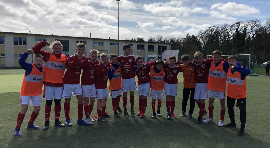 Heimsieg der D1 gegen TSV 1860 Stralsund ll