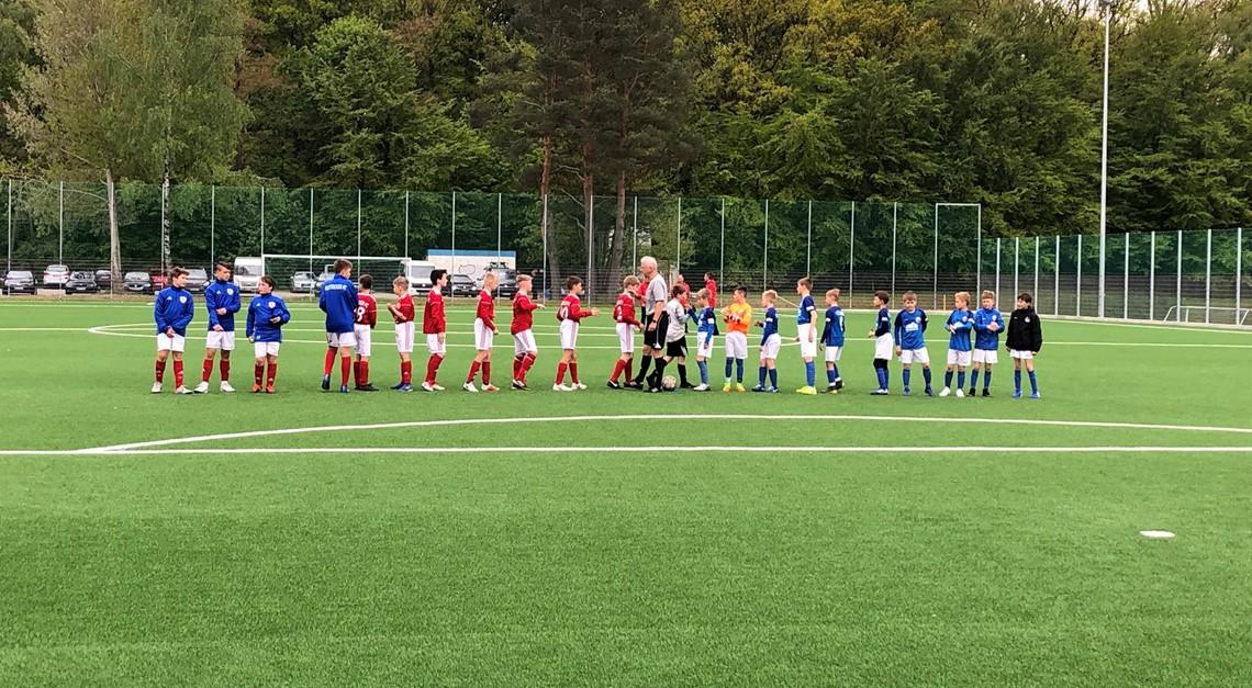 D1 mit Remis beim FC Hansa Rostock