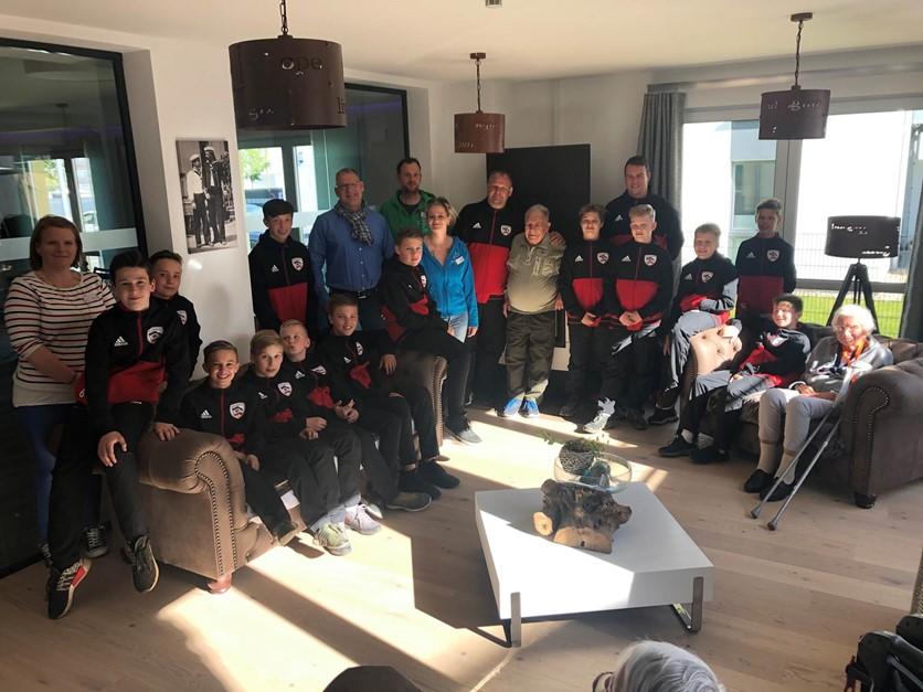 D1 besucht Senioren im Küstendomicil Elmenhorst