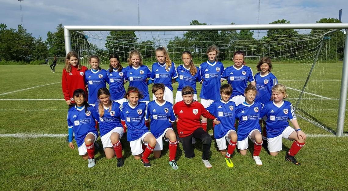 C-Juniorinnen beim Pinse Cup in Dänemark