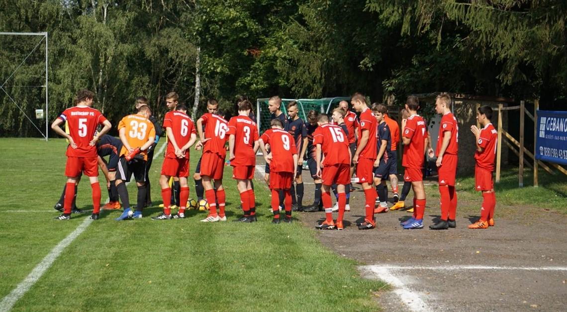 B-Jugend verliert 1:2 gegen den Förderkader