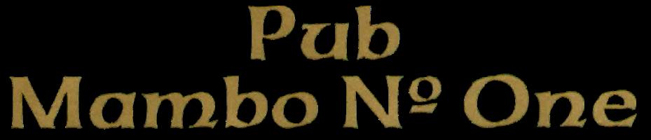 Sponsor - Pub Mambo No. One