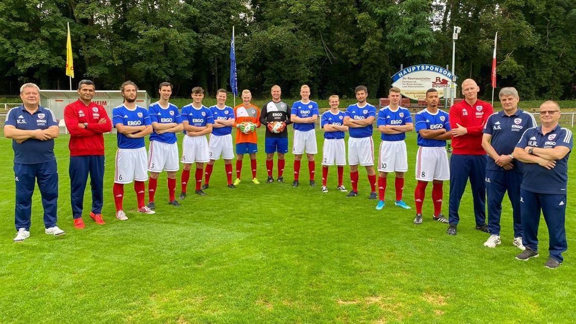 Mannschaftsfoto Rostocker FC 2