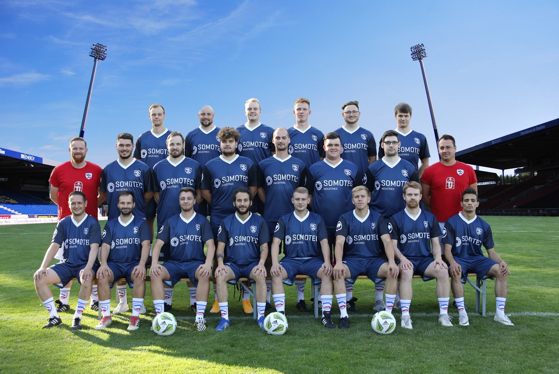 Mannschaftsfoto Rostocker FC 3