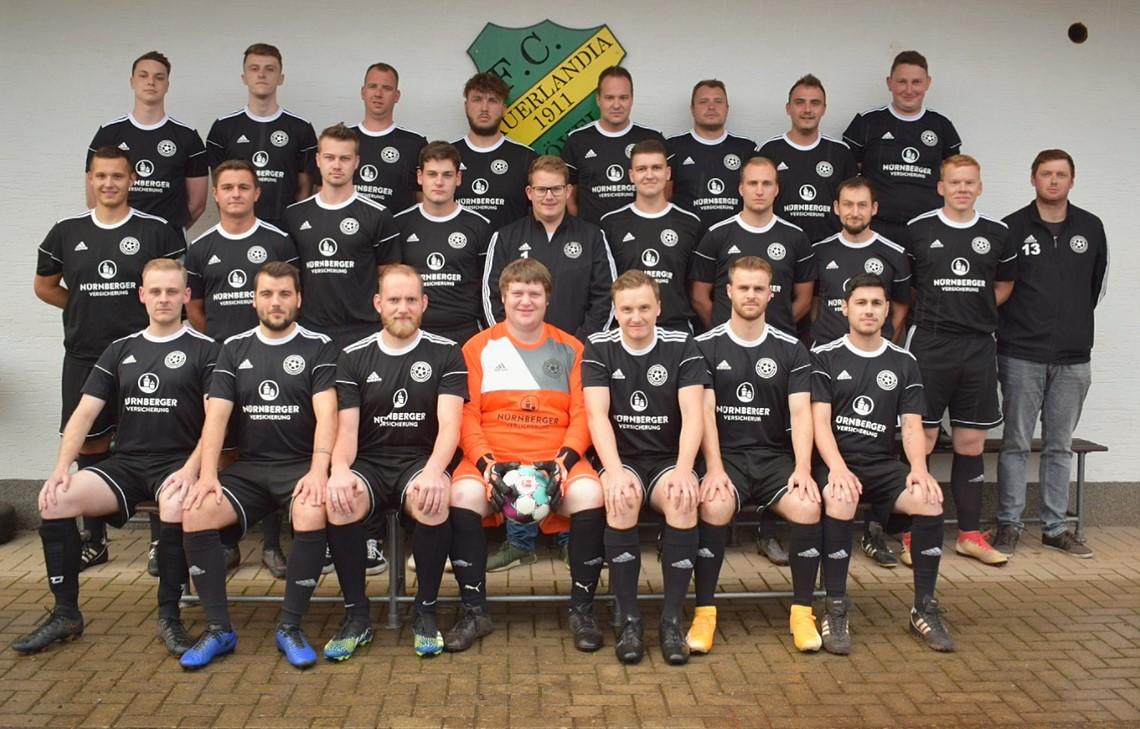 Mannschaftsfoto SG Beckum/Hövel 2
