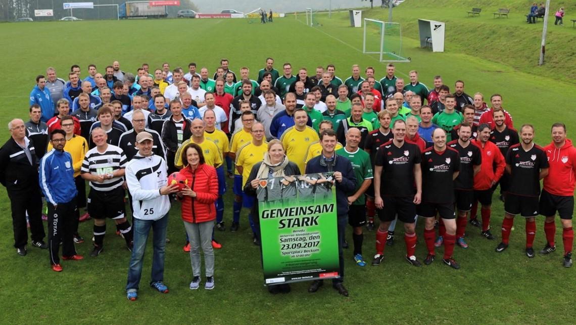 Mannschaftsfoto SG Beckum/Hövel