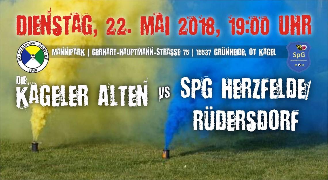 Heimspiel gegen SpG Herzfelde/Rüdersdorf
