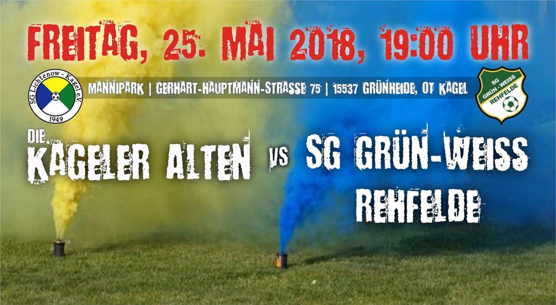 Heimspiel gegen SG Grün-Weiß Rehfelde