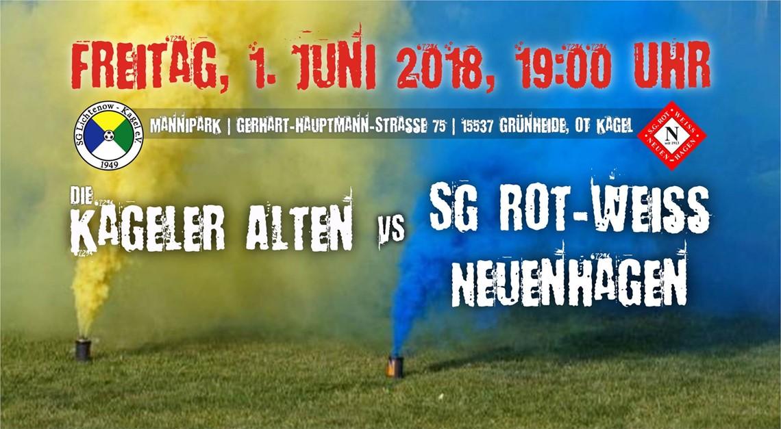 Heimspiel gegen SG Rot-Weiss Neuenhagen