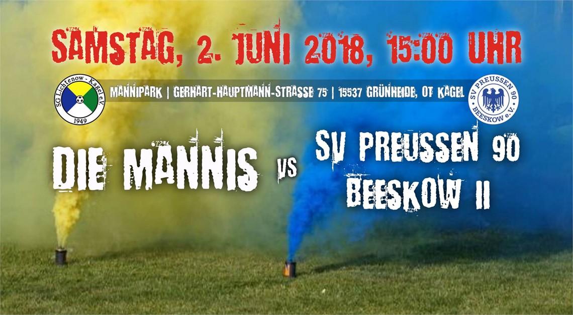 Heimspiel gegen SV Preussen 90 Beeskow 2