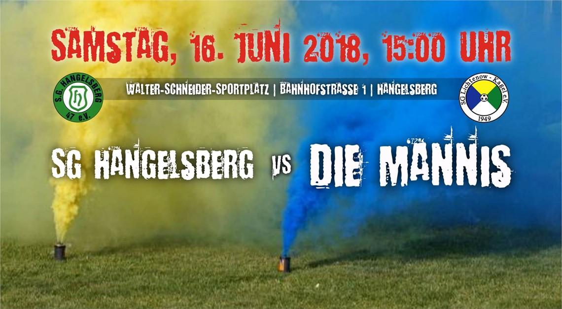 Auswärtsspiel gegen SG Hangelsberg