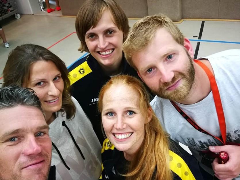 4. Platz beim Volleyballturnier