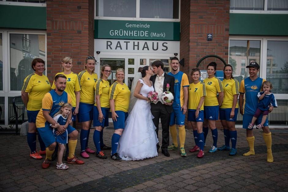 Erste Gitta-Manni Hochzeit