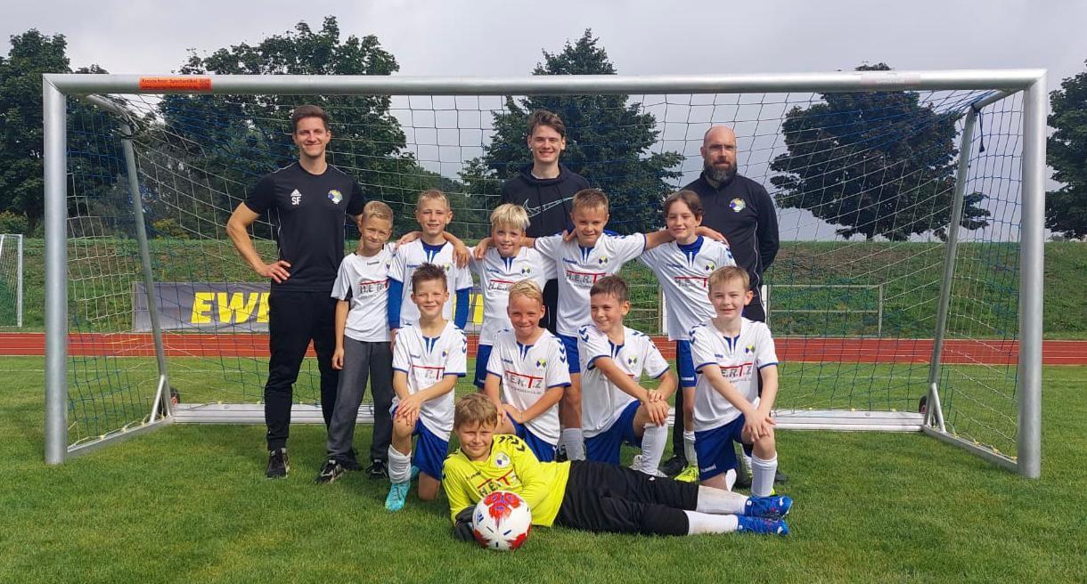Mannschaftsfoto SG Lichtenow/Kagel e.V.