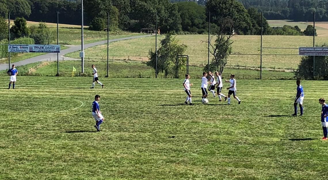B Jugend gewinnt gegen FC 1934 Bierstadt