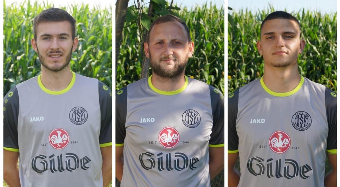 Drei neue Gesichter beim TSV