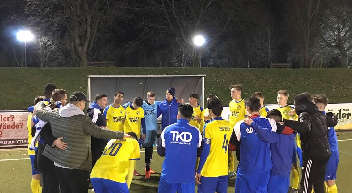 U17 mit Derbysieg gegen Verfolger FC Kray!
