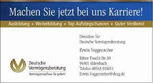 Sponsor - Deutsche Vermögensberatung Mario Klinger