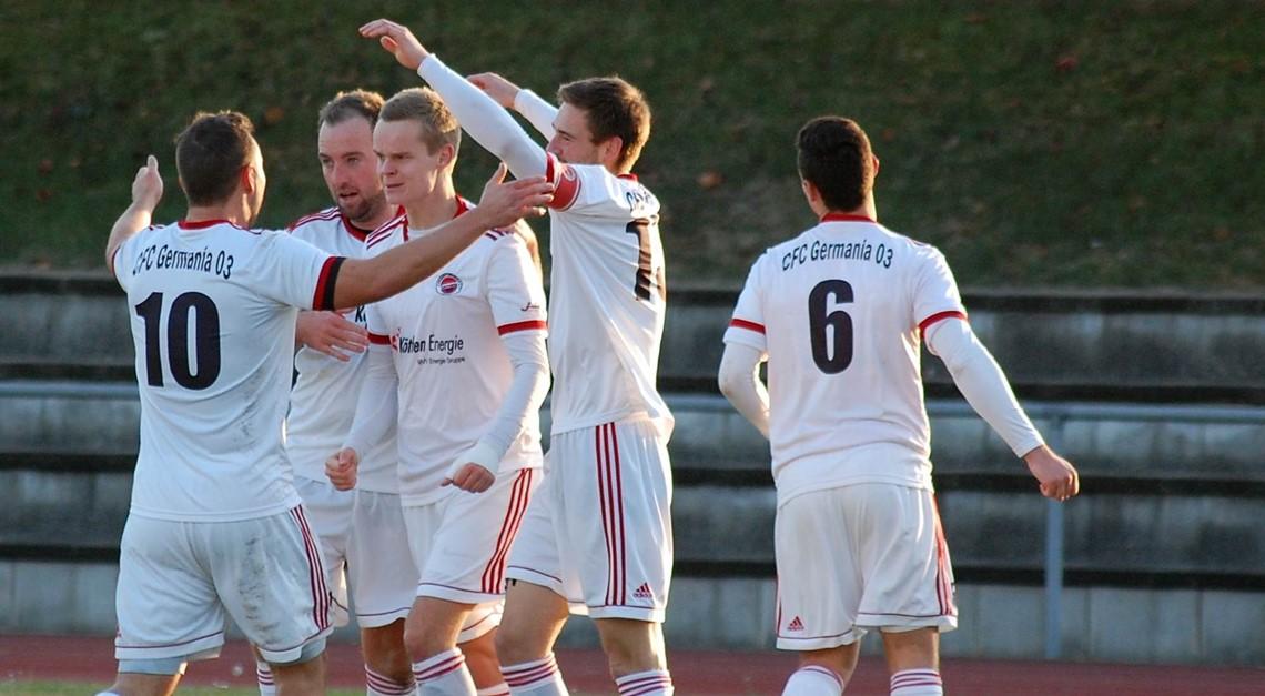 Germania empfängt den SC Naumburg