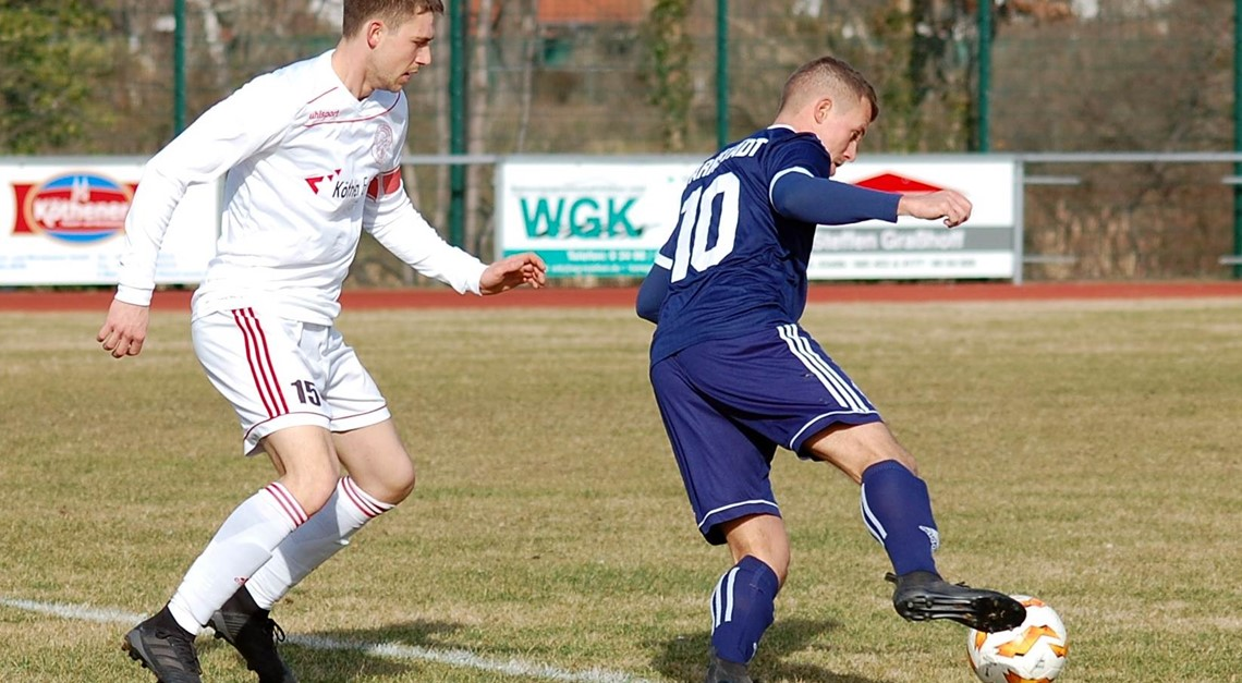 Torloses Unentschieden gegen Blau-Weiß Farnstädt