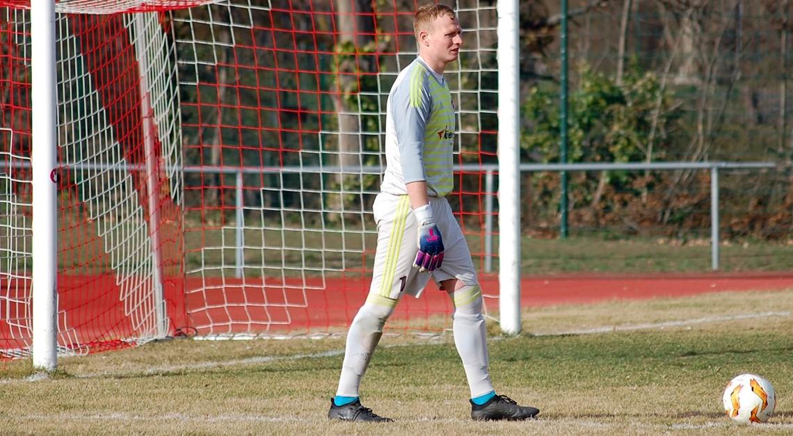 Christian Schulze mit seinem 200. Pflichtspiel