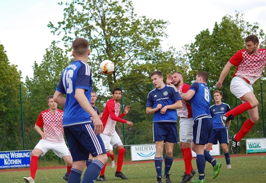 Reserve besiegt den HSV Gröbern mit 1:0