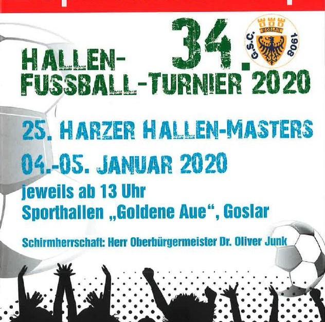 Ergebisse vom Hallen-Master in Goslar