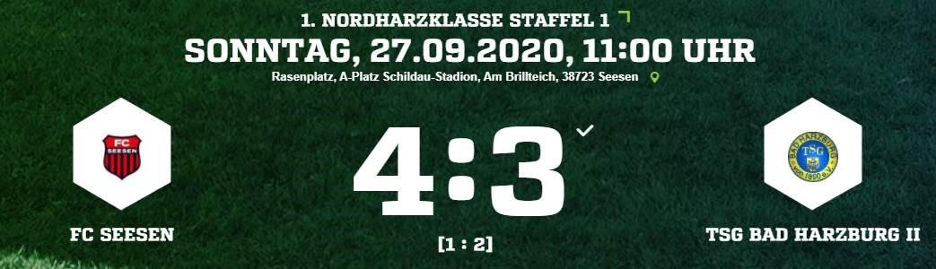 FC Seesen gewinnt Punktspielauftakt