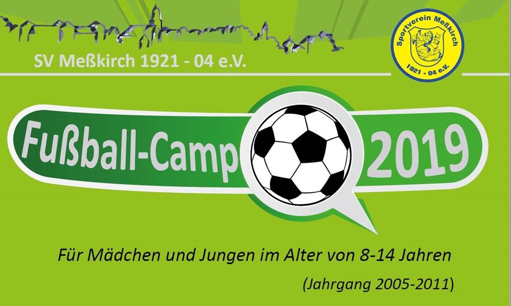 SV Meßkirch Fußball-Camp 2019