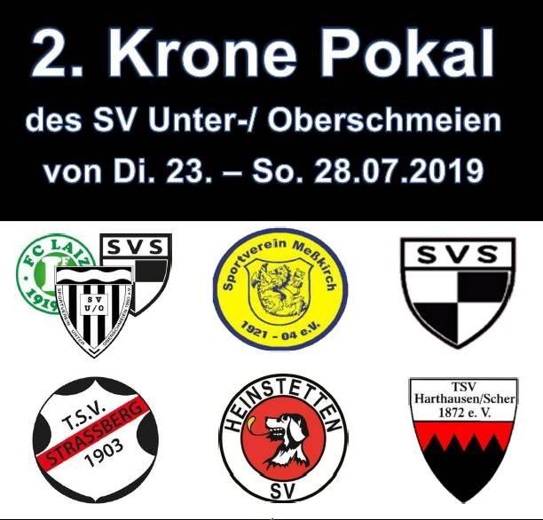 SV Meßkirch nimmt am 2. Krone Pokal 2019 teil